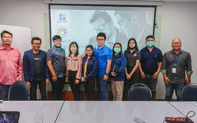 HumanOS  ประชุม Kick Off โปรเจค ที่ บริษัท ซินเท็ค คอนสตรัคชั่น จำกัด (มหาชน)